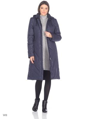 Пальто SVETA Maritta. Цвет: синий