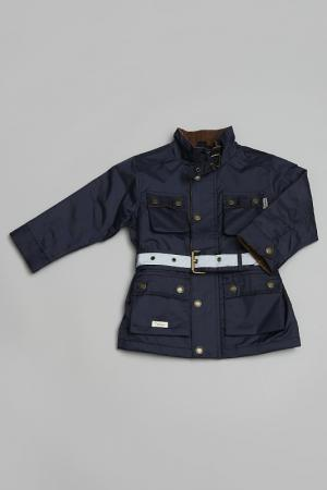Куртка Trasluz. Цвет: синий