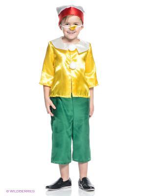 Буратино Карнавалия. Цвет: желтый, зеленый, красный