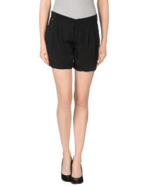 Повседневные шорты MANILA GRACE. Цвет: черный