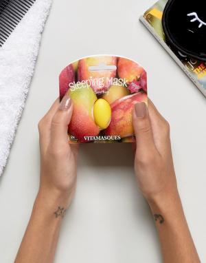 Vitamasque 3D-маска в виде манго для нанесения перед сном. Цвет: бесцветный