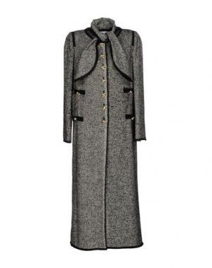 Легкое пальто EDWARD ACHOUR. Цвет: серый