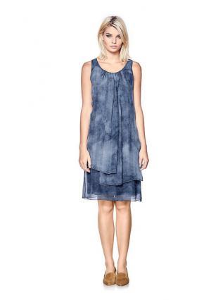 Платье B.C. BEST CONNECTIONS. Цвет: коралловый, серо-коричневый, синий деним