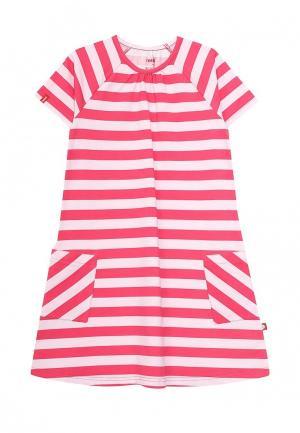 Платье Reima. Цвет: розовый