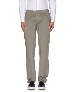 Повседневные брюки GOLD CASE by ROCCO FRAIOLI. Цвет: серый