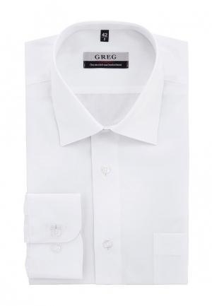 Рубашка Greg. Цвет: белый