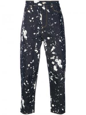 Paint splatter jeans 3.1 Phillip Lim. Цвет: синий