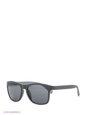 Солнцезащитные очки Polaroid. Цвет: серый