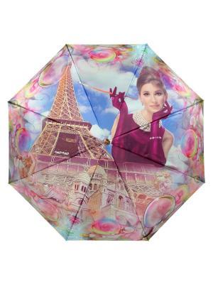 Зонт Bohemia DAIS. Цвет: лазурный, розовый