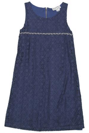 Платье Dino e Lucia. Цвет: синий