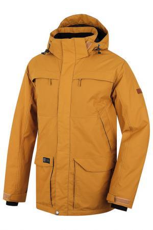 Куртка HANNAH. Цвет: коричневый