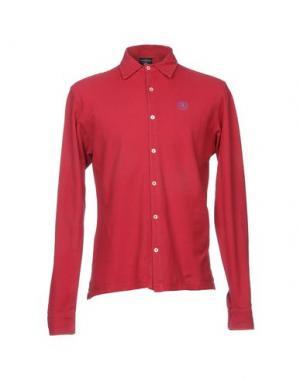 Pубашка HENRI LLOYD. Цвет: красный