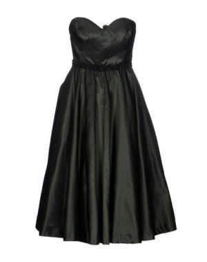 Платье до колена NORA BARTH. Цвет: темно-зеленый