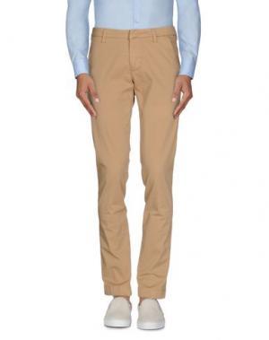 Повседневные брюки FRADI. Цвет: верблюжий