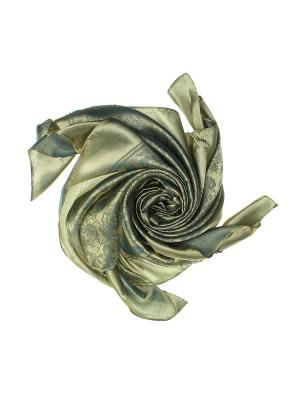 Платок Olere. Цвет: голубой, золотистый