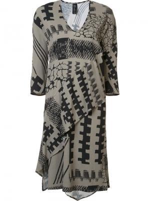 Платье Lulu Blanket Zero + Maria Cornejo. Цвет: зелёный
