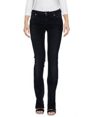 Джинсовые брюки SIVIGLIA. Цвет: черный