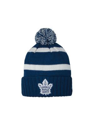 Шапка NHL Maple Leafs Atributika & Club. Цвет: синий, белый