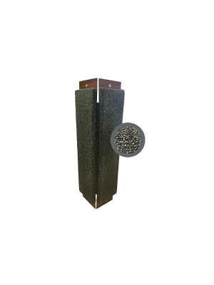 Когтеточка Неженка средняя ковровая угловая, 61*24 см. Цвет: серый