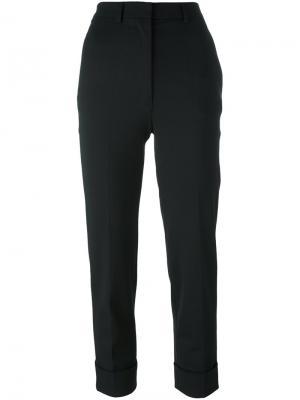 Укороченные брюки Hache. Цвет: чёрный