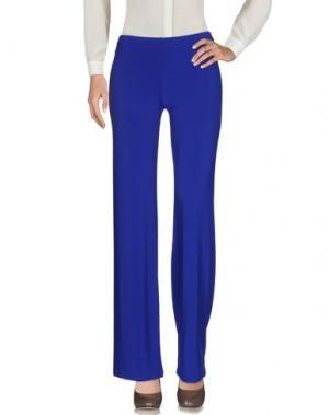 Повседневные брюки 1-ONE. Цвет: ярко-синий