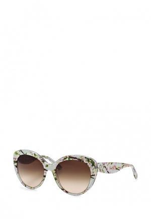 Очки солнцезащитные Dolce&Gabbana. Цвет: зеленый