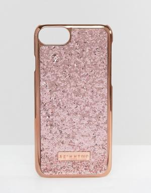 Skinnydip Золотисто-розовый чехол для iPhone 7 Dita. Цвет: медный