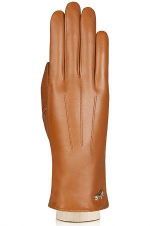 Перчатки Labbra. Цвет: рыже-коричневый
