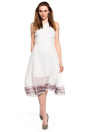 Платье Tom Tailor 501920000708210. Цвет: канадский оранжевый меланж