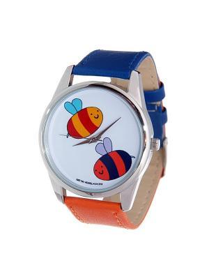 Часы Mitya Veselkov. Цвет: синий