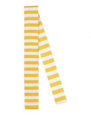 Галстук LUIGI BORRELLI NAPOLI. Цвет: желтый