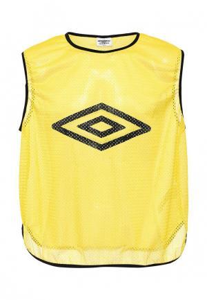 Майка спортивная Umbro. Цвет: желтый