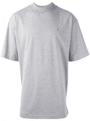 Базовая футболка Études. Цвет: серый