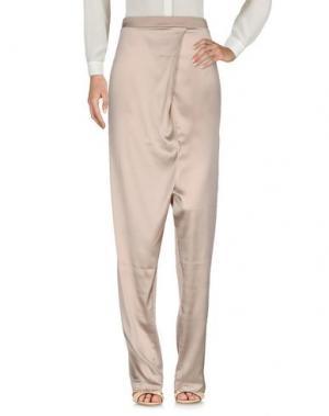 Повседневные брюки ES'GIVIEN. Цвет: светло-коричневый
