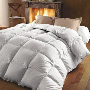 Одеяло натуральное из 100% настоящего пуха молодой утки REVERIE BEST. Цвет: белый