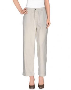 Джинсовые брюки BELLEROSE. Цвет: светло-серый