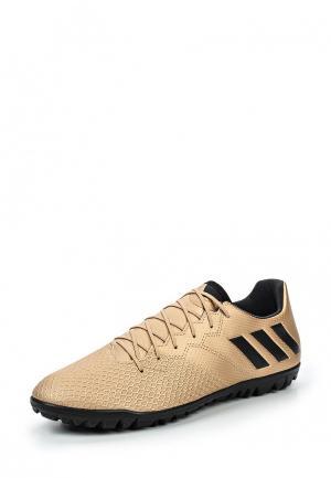 Шиповки adidas Performance. Цвет: золотой