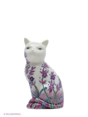 Фигурка Кошка Pavone. Цвет: молочный, сиреневый