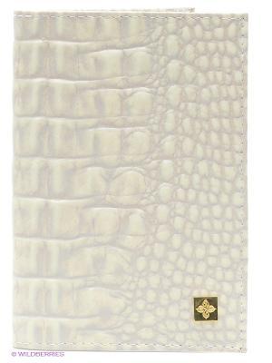 Обложка для паспорта Dimanche. Цвет: бежевый