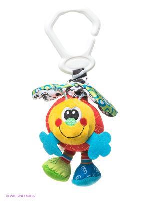 Игрушка-подвеска Пчелка Playgro. Цвет: зеленый, красный, желтый, синий