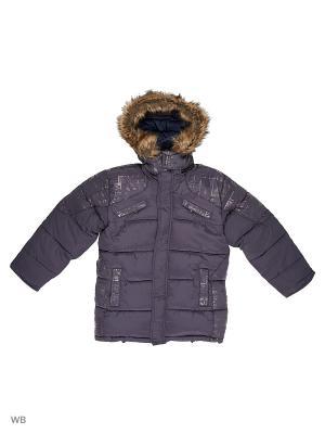 Куртка для мальчика Газета Пралеска. Цвет: синий