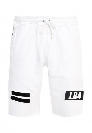Шорты спортивные J.B4. Цвет: белый