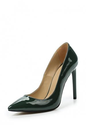 Туфли D.Moro. Цвет: зеленый