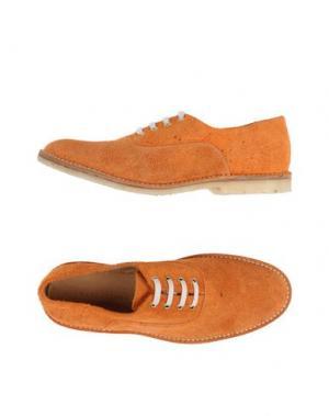 Обувь на шнурках MARC JACOBS. Цвет: оранжевый