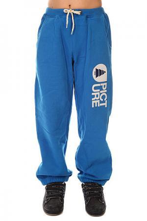 Штаны широкие детские  Rampe 14 Blue Picture Organic. Цвет: синий