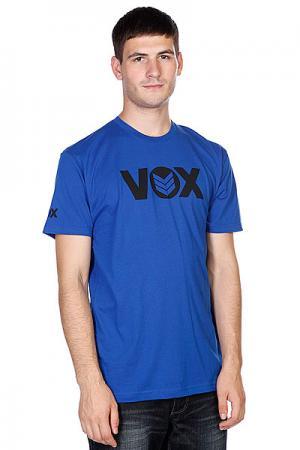 Футболка  Global Royal Blue/Black VOX. Цвет: синий