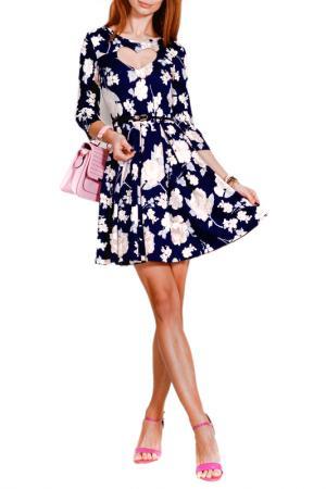 Платье FRANCESCA LUCINI. Цвет: мадрид, экрю