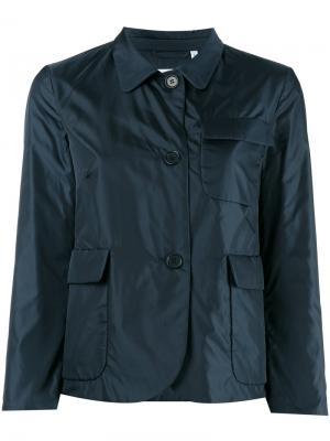Укороченная куртка Americana Aspesi. Цвет: синий