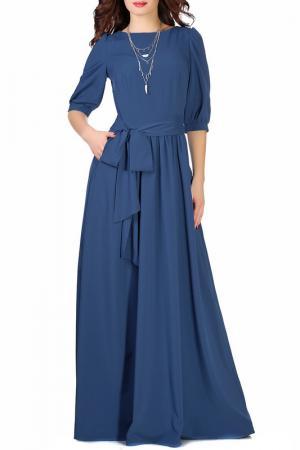 Платье Olivegrey. Цвет: индиго