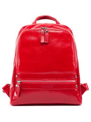 Рюкзак женский VERSADO. Цвет: красный